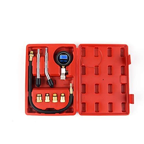 ChaRLes Tragbare Auto Gas Motor Kompression Zylinder Druckmessgerät Tester Tool Kit Mpa-kit