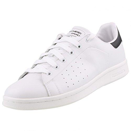 Skechers Onix, Baskets Basses Femme Blanc - Blanc (Wbk)