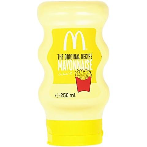 Mc Donald's - Maionese, Senza Glutine - 4 tubetti da 250 ml [1000 ml] - Maionese Senza Glutine