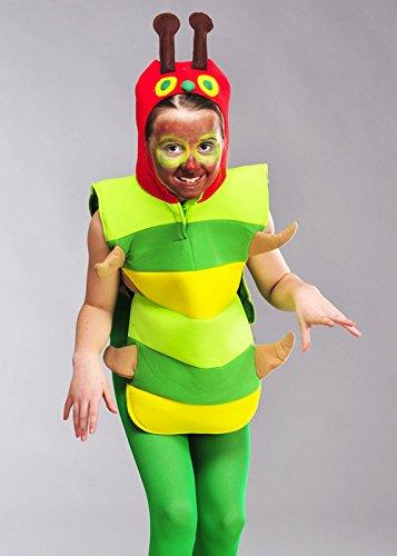 Unbekannt Kinder Größe hungrig Caterpillar Stil Kostüm XL (10-12 Years) (Kind Caterpillar Kostüm)
