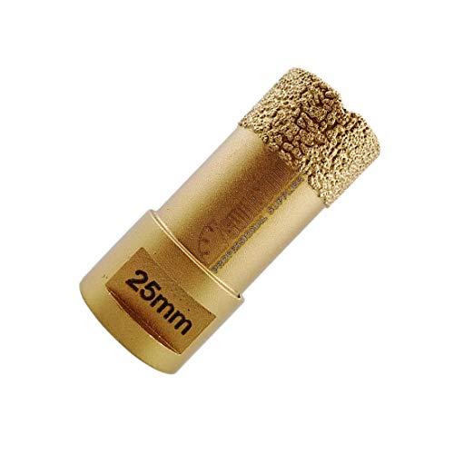 Marmor-und Granit-fliesen (SHDIATOOL Diamantbohrkrone, vakuumgelötet, 15 mm, Diamanthöhe für Porzellan, Fliesen, Granit, Marmor, Trockenbohren.)
