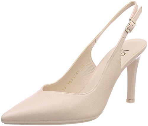 lodi Raian-TP, Zapatos de Tacón con Punta Cerrada para Mujer, Rosa (Ginger Nude Nude), 38 EU