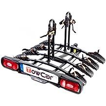 Towcar TCB0004 Portabicicletas Trasero Para Cuatro Bicicletas