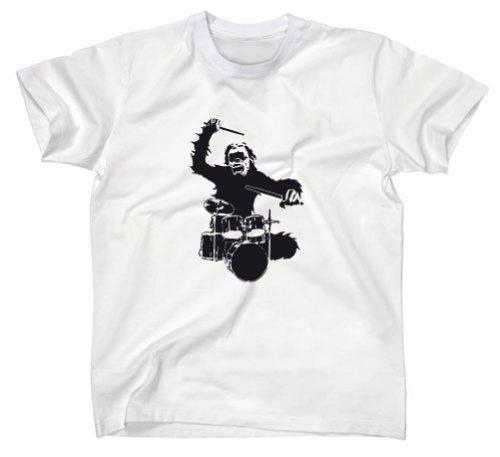 batteur-avec-verrucktem-singe-fun-t-shirt-weiss-ohne-abb-xl