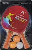ArrowMax ATS01 Rubber Table Tennis Set (Multicolour)