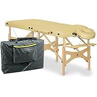 Habys Alba 70de madera mesa de masaje portátil paquete luz amarillo