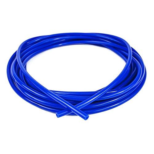 Manguera de vacío Ramair Filters VAC3MM 10M BL, hecha de silicona, 3 mm x 10 m, color azul.