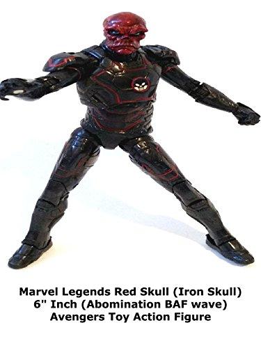 Review: Marvel Legends Red Skull (Iron Skull) 6