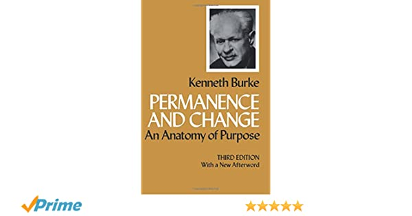 Permanence And Change An Anatomy Of Purpose Third Edition Amazon