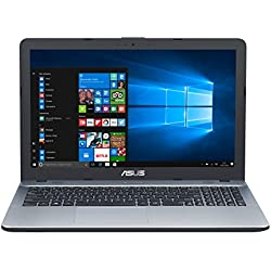 "ASUS K541UA-GO1205T - Ordenador Portátil de 15.6"" HD (Intel Core i7-7500U, 8 GB RAM, 1 TB HDD, Intel HD Graphics, Windows 10 Home) Plateado - Teclado QWERTY Español"