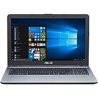 """ASUS K541UJ-GQ125T - Ordenador Portátil de 15.6"""" HD (Intel Core i7-7500U, 8 GB RAM, 1 TB HDD, Nvidia GeForce 920M de 2 GB, Windows 10 Home) Plata - Teclado QWERTY Español"""