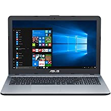 "ASUS D540SA-XX620T - Ordenador portátil de 15.6"" (Intel Celeron N3060, 4 GB de RAM, HDD de 500 GB, Intel HD Graphics 400, Windows 10 Original), plata gradiente - Teclado QWERTY Español"