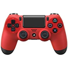 Sony PS4 Dualshock 4 Controller, Magma Red (Official Version)