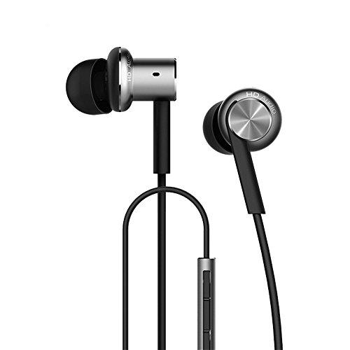 Xiaomi Kopfhörer 3,5-mm-Klinke Hybrid-Spule aus Eisen In-Ear-Stereo-Kopfhörer In-Ear-Design mit Rauschunterdrückung & Lautstär (Iron Man-ohrhörer)