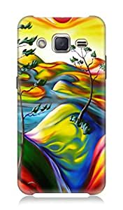 Samsung Galaxy J2 3Dimensional High Quality Designer Back Cover by 7C