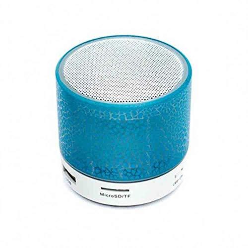 Bluetooth-Lautsprecher - Mini Crack mit Subwoofer-Plug-in-Bluetooth-Lautsprecher (Farbe : Blau) Aba Bluetooth