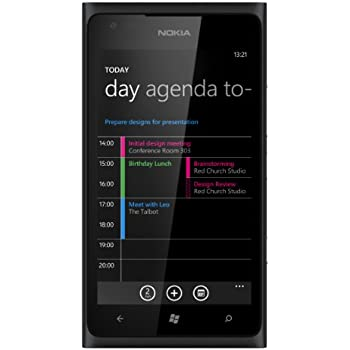 Nokia Lumia 900 Sim Free Mobile Phone - Black