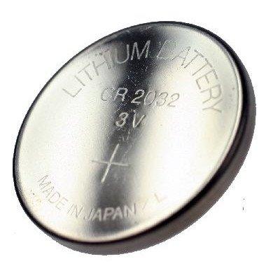 CR2032 3V al litio batterie di marche moneta,