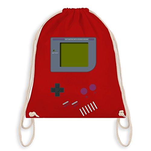 Shirtracer Nerds & Geeks - Gameboy - Unisize - Rot - WM110 - Turnbeutel & Gym Bag