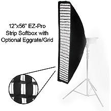 Fotodiox EzPro - 1256-OM profesional Studio-usos EZ Pro 12 x 56 ventana difusora de luz suave difusor/velocidad de conexión para Olympus Flash FL-36R