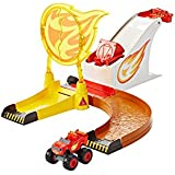 Fisher Price - Dgk55 - Blaze And The Monster Machines - Flaming Stunts - Die Cast Model