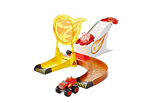 Blaze y los Monster Machines Aro de fuego Fisher-Price (Mattel DGK55)