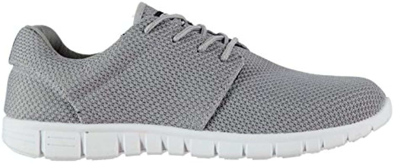 Original Shoes Stoff  Laufen Sport Herren Sneaker Grau Schuhe Sneaker