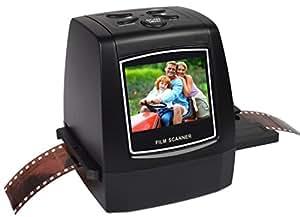 DigitNow! Scanner per film e diapositive portatili ad alta risoluzione portatile ad alta risoluzione 22MP / 14MP scorre le diapositive e le negazioni 35 mm, 110 film, film 126KPK e pellicola dello schermo LCD a colori da 8 pollici Super 8mm a convertitore digitale