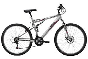 Extreme Boy's Delirium Mountain Bike - (Silver, 26 Inch, 20 Inch, 26 Inch)