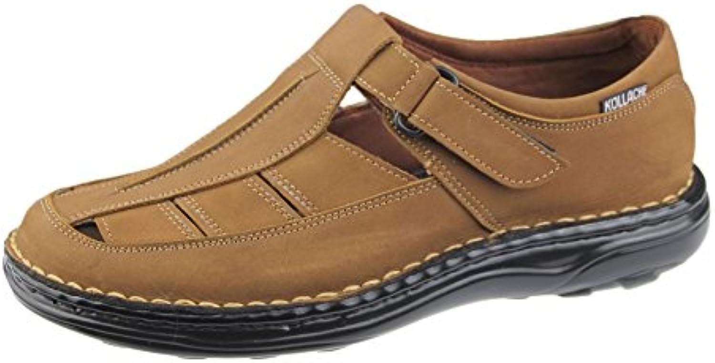 Herren Sandalen Casual Beach Fashion Casual Walking Flip Flop Slipper Leder Schuhe