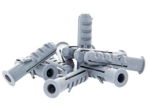 Kunststoff-dübel (Flossen Kragen Nylon Kunststoff Dübel Plastikdübel Mehrzweckdübel Spreizdübel Unidübel Universaldübel, wählen:1000 Stück Dübel 6x30)