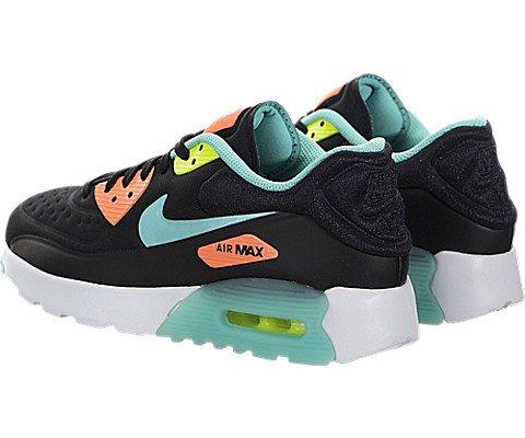 Nike , Damen Laufschuhe 38,5 EU black hyper turquoise bright mango 001