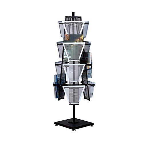 Revistero Planta - Folleto Display Titular del Stand Literatura Folleto portátil for la Oficina en casa caseta de Feria de Referencia Directorio de Soporte de exhibición