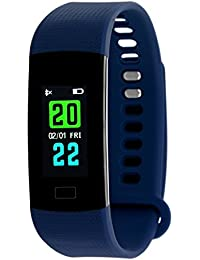 TIMEWEAR Fitness Tracker Smart Blue Band-Colored Display-Heart Rate-Calorie Burned-Step Count-Sleep-Monitor-Unisex...