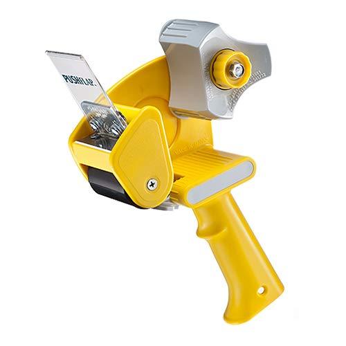 """Excell RT-82276 Industrieller Kartonklebebandspender: For tape up to 2\"""" wide (Gelb)"""