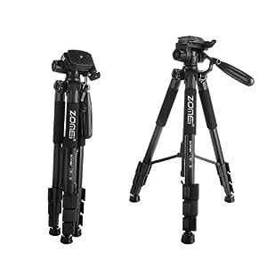 zomei z666 professionnel slr appareil photo tr pied avec sac compact voyage jusqu 39 3kg amazon. Black Bedroom Furniture Sets. Home Design Ideas