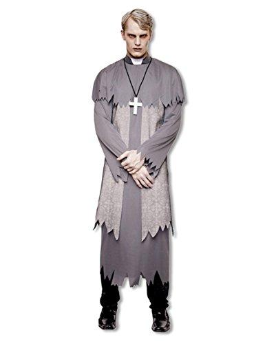 Geister Priester Kostüm Plus Size (Kostüm Geist Priester)
