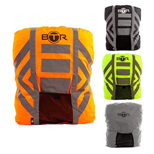 2c048c75f729 BTR Waterproof High Visibility Backpack Cover. High Viz Rucksack Cover With  Reflective 3M Tape.