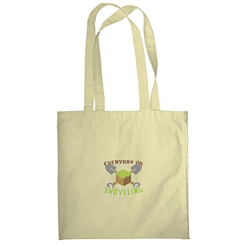 Texlab–Everyday SHOV eling–sacchetto di stoffa Naturale