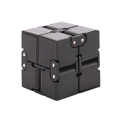 SunShay Infinity Cube Fidget EDC Decompressione Stress Reducer Giocattoli per bambini e adulti