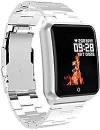 RanGuo Reloj Inteligente para Hombres Mujeres y niños, Deportes al Aire Libre Impermeable IP68 Smart Watch para Sistema Android y iOS,…