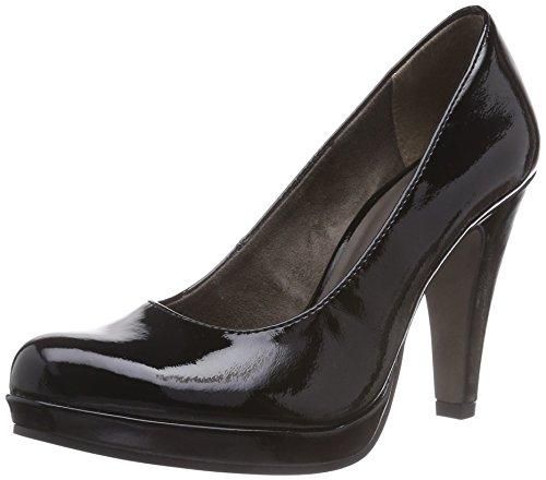 Tamaris 22426 Scarpe con tacco da donna Nero (Black Patent 018)