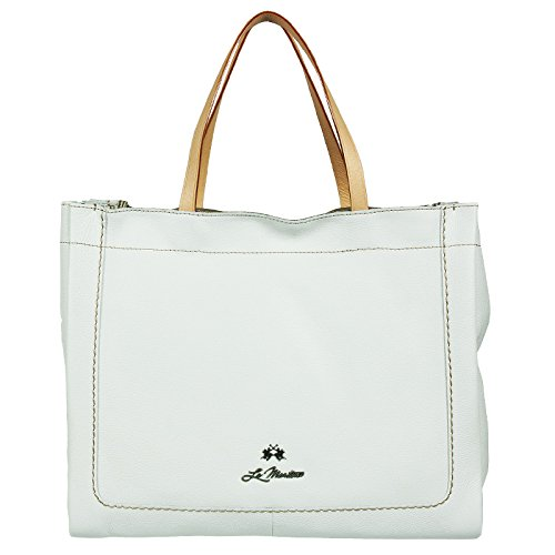 Shopping bag in pelle La martina, linea Santa F