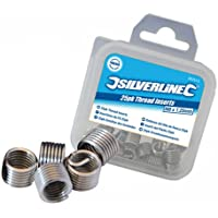 Silverline 234567 - Roscas Helicoil (M5 x 0,8 mm, 25 pzas)