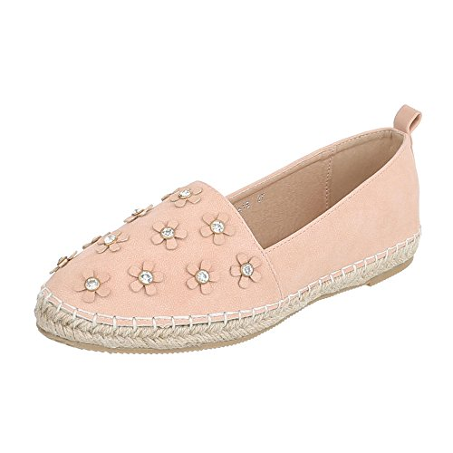 Ital-Design - Low-top Donna rosa antico