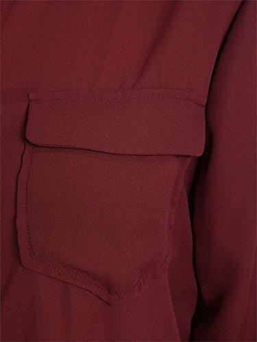 Pepe Jeans London Sami, Camicia Donna Rosso