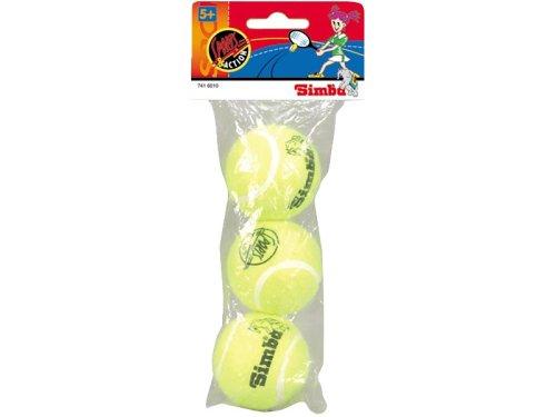 Simba 7416010 - 3 Tennisbälle im Beutel