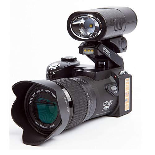 Digitalkamera, 33 Millionen Pixel Autofokusprofessionelle Spiegelreflexkamera Video Optischer Zoom3.0 HD-Bildschirm D7200 Teleobjektiv 24X Dreiobjektiv,US -