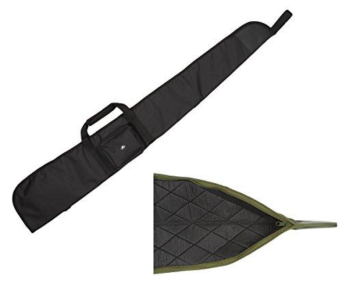 Case4Life Noir sac Etui Protection Rembourré Carabine à air / Fusil de chasse / Sac pour la chasse + Bandoulière Rembourrée Amovible - Garantie à vie