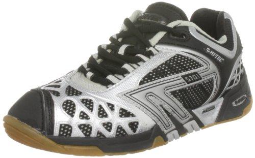 Hi-tec S701 4: Sys, Chaussures De Sport-squash Et Badminton Femme Noir (noir)